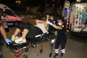 Sokak ortasında silahlı saldırıya uğrayan kadın yaralandı