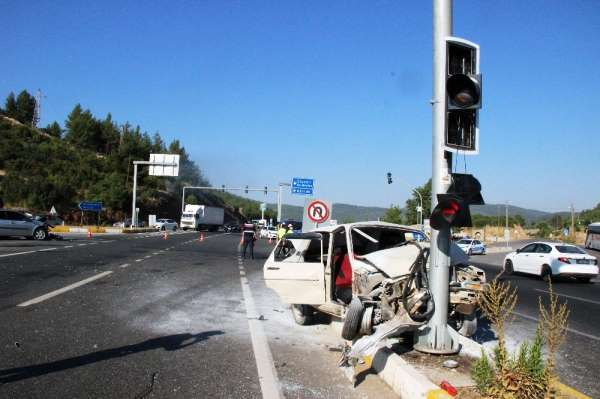 Ula'da kaza: 5 yaralı