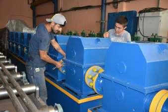 Zonguldaklı iş adamı ilk milli ve yerli boru profil makinesi üretti