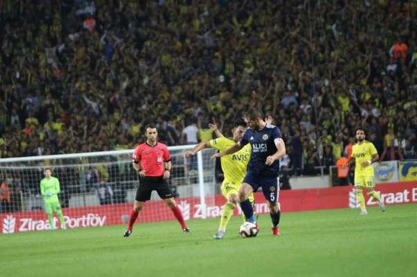 Ziraat Türkiye Kupası: Tarsus İdman Yurdu: 0 - Fenerbahçe: 2 (İlk yarı)