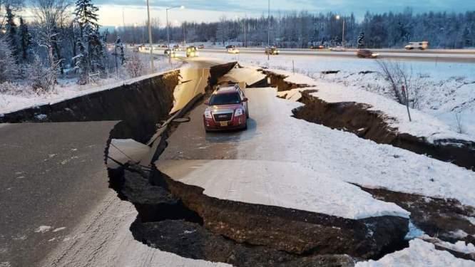Alaska'daki depremin şiddeti