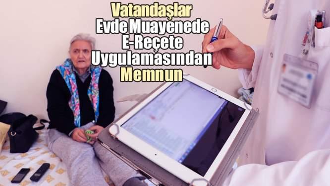 Samsun Haberleri: Vatandaşlar Evde Muayenede E-Reçete Uygulamasından Memnun