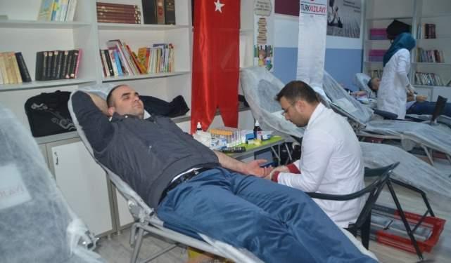 Samsun Haberleri: Veliler Ve Öğretmenlerden Kan Bağışı