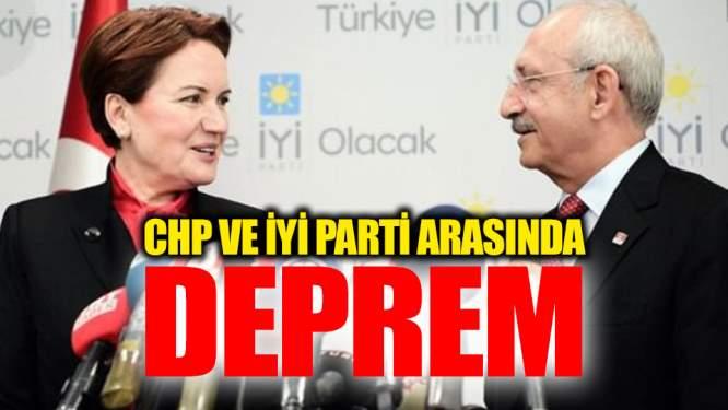 CHP Ve İYİ Parti Arasında Deprem! İşler Karıştı...