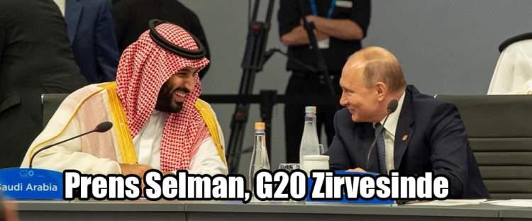Suudi Veliaht Prens Selman, G20 Zirvesinde
