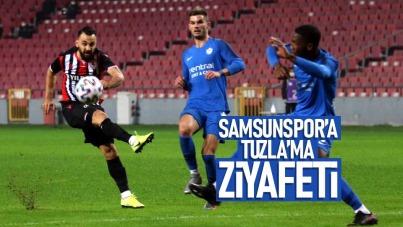 Samsunspor'a Tuzla'ma ziyafeti