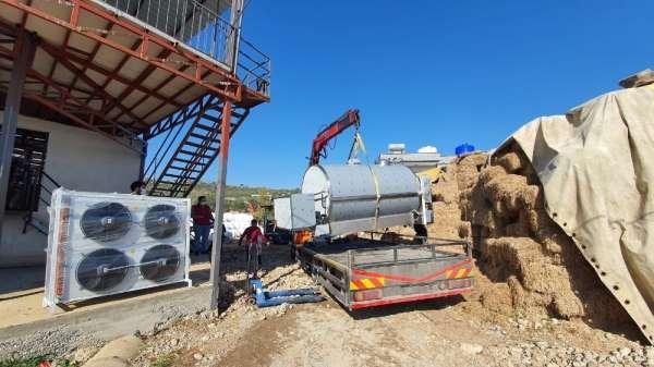 Mersin'de süt üreticilerine soğutma tankı desteği