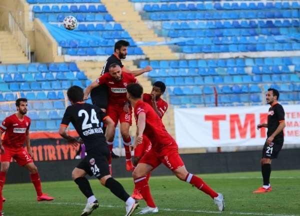 TFF 1. Lig: Adanaspor: 1 - Boluspor: 2 (İlk yarı)
