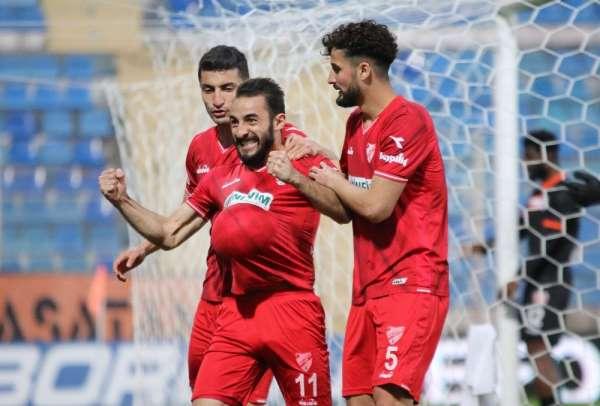 TFF 1. Lig: Adanaspor: 2 - Boluspor: 3