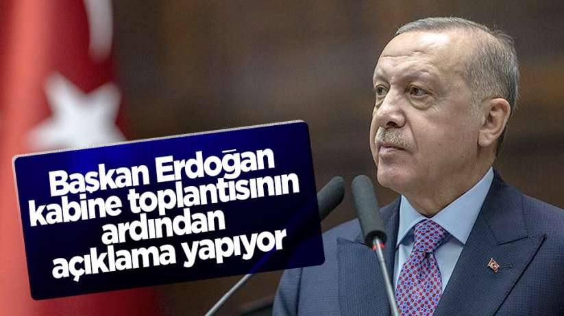 Başkan Erdoğan'dan ulusa sesleniş