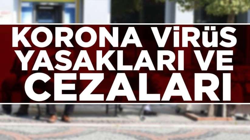 Korona virüs yasakları ve cezaları