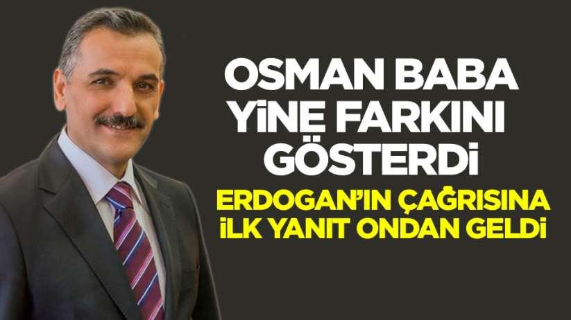 Samsun Valisi Osman Kaymak 1 maaşını bağışladı