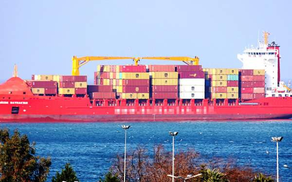 Samsun'dan Mart ayında 59 milyon dolarlık ihracat