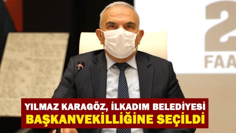 Yılmaz Karagöz, İlkadım Belediyesi Başkanvekilliğine seçildi