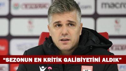 Gökhan Geylani: 'Sezonun en kritik galibiyetini aldık'