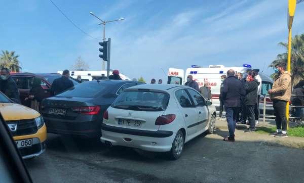 Trafikte kalp krizi geçirerek kaza yapan sürücü hayatını kaybetti