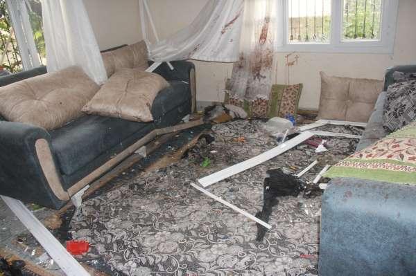 Adanada evdeki patlamanın sebebi el yapımı bomba çıktı