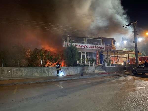 Konyada bir lokantada patlama