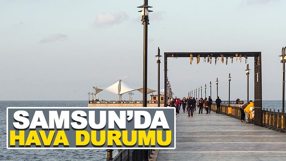 Samsun'da hava durumu (1.07.2019)