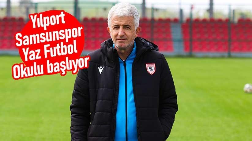 Yılport Samsunspor Yaz Futbol Okulu başlıyor