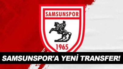 Samsunspor'a sürpriz transfer!