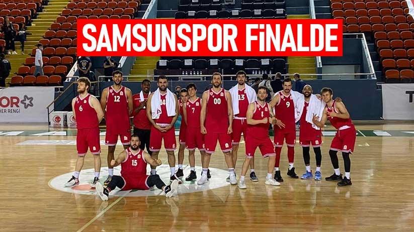 Samsunspor Basket finalde