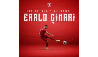 Samsunspor'da sezonun ilk transferi Erald Çinari