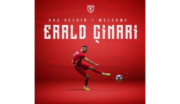 Samsunsporda sezonun ilk transferi Erald Çinari