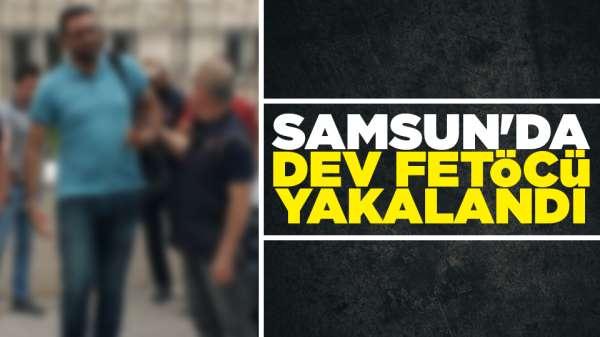 Samsun'da FETÖ asker mahrem sorumlusu yakalandı