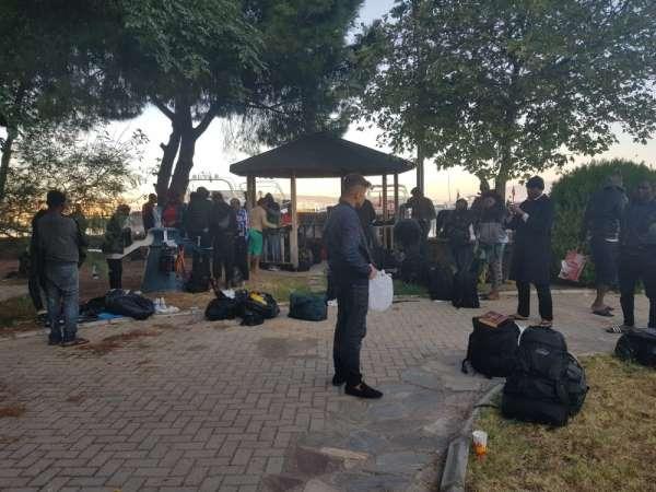 36 göçmen ölüme yolculukta yakalandı