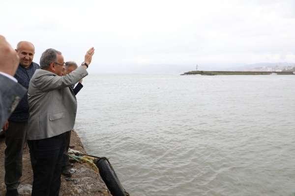 Başkan Güler: 'Fatsa Balıkçı Barınağı önemli bir liman olacak'