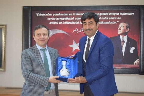 HAK-İŞ'den Erciyes Üniversitesi Rektörü'ne Ziyaret