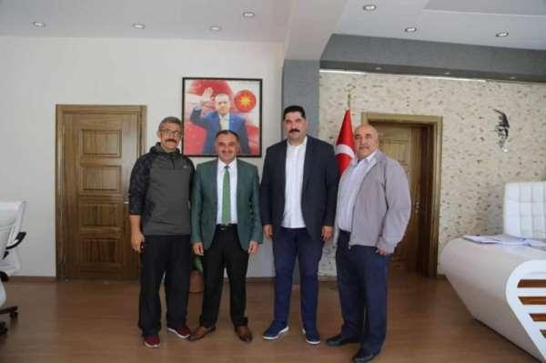 Halat Çekme Federasyonu İl Temsilcisi Özben Şimşek'ten ziyaret turu