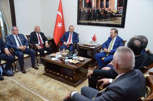 Hisarcıklıoğlu: 'Ankara'da durmadan Ordu için çalışıyoruz'