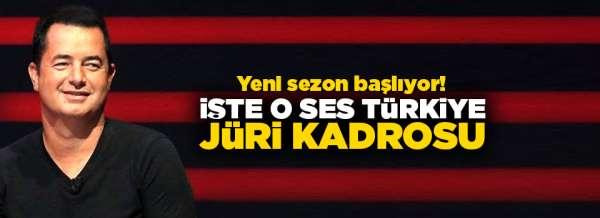 İşte O Ses Türkiye jüri kadrosu