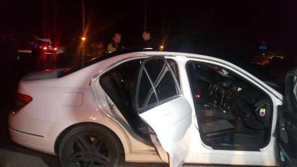 Polisin dur ihtarına uymadı, kaçarken kaza yaptı