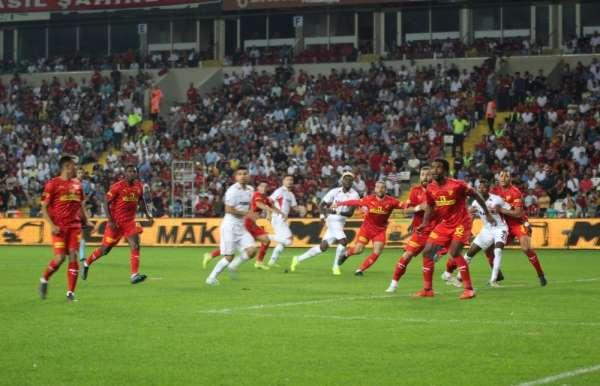Süper Lig: Gazişehir Gaziantep: 1 - Göztepe: 1 (Maç sonucu)