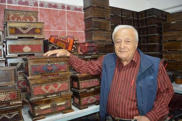 Tokat'tan Amerika'ya minyatür ceviz sandığı ihracatı