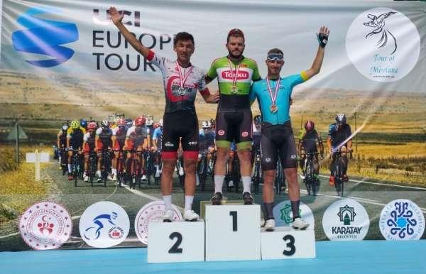 Uluslararası Mevlana Bisiklet Turunun genel klasmanında 1. Torku oldu