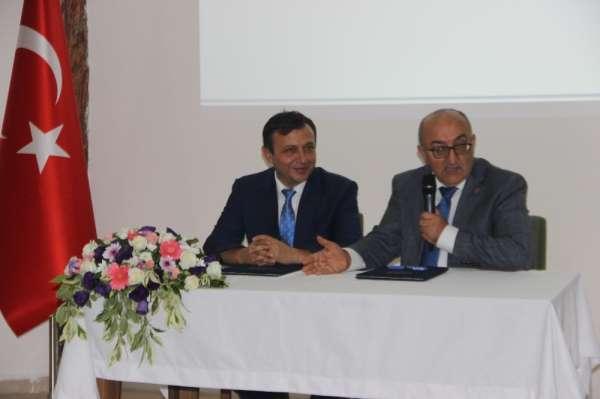 ERÜ Rektörü Mustafa Çalış:'Üniversitemiz, ülkemizin kalkınma planları için ileri