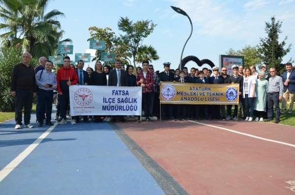 Fatsa'da Dünya Yürüyüş Günü etkinliği