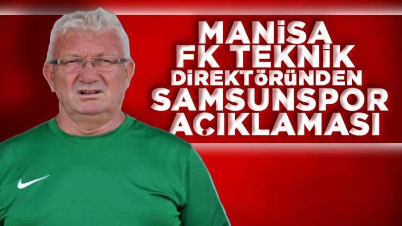 İsmail Ertekin'den Samsunspor açıklaması