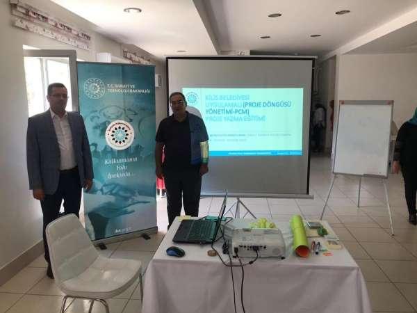 Proje Döngüsü Yönetimi eğitimi tamamlandı
