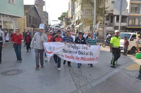 Sinop'ta Dünya Yürüyüş Günü