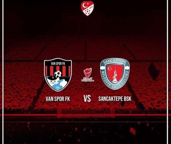 Ziraat Türkiye kupasında Van Spor FK'nin rakibi Sancaktepe FK oldu