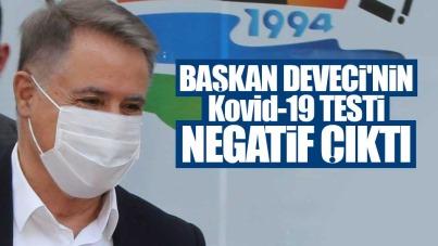 Cemil Deveci'nin Kovid-19 testi negatif çıktı
