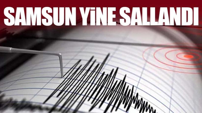 Samsun'da bir deprem daha