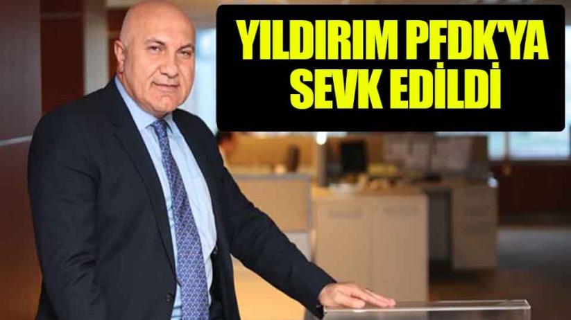 Samsunspor Başkanı Yıldırım PFDKya Sevk Edildi