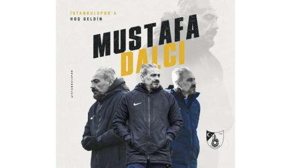 İstanbulsporun yeni teknik direktörü Mustafa Dalcı oldu