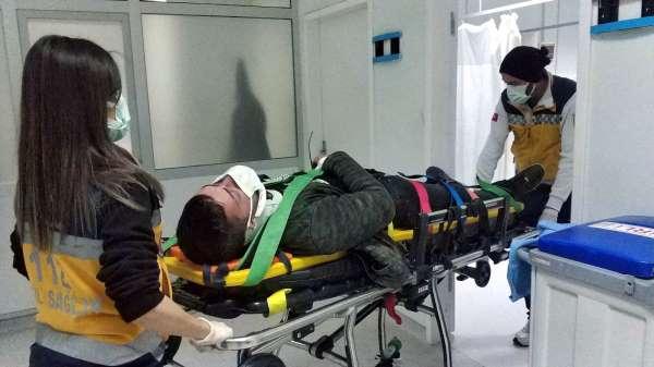 Samsunda motosiklet kazası: 1 yaralı